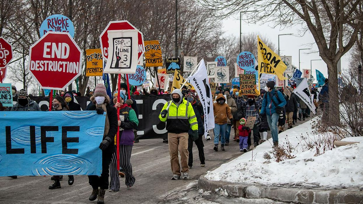 Line 3: Stopping the Next Big Climate Threat Crossing the U.S.-Canada Border