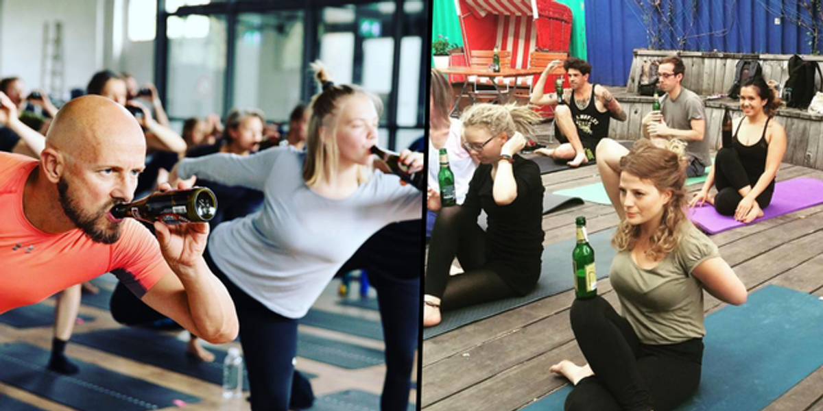 Beer Yoga Is a Thing and We Definitely Want To Try It