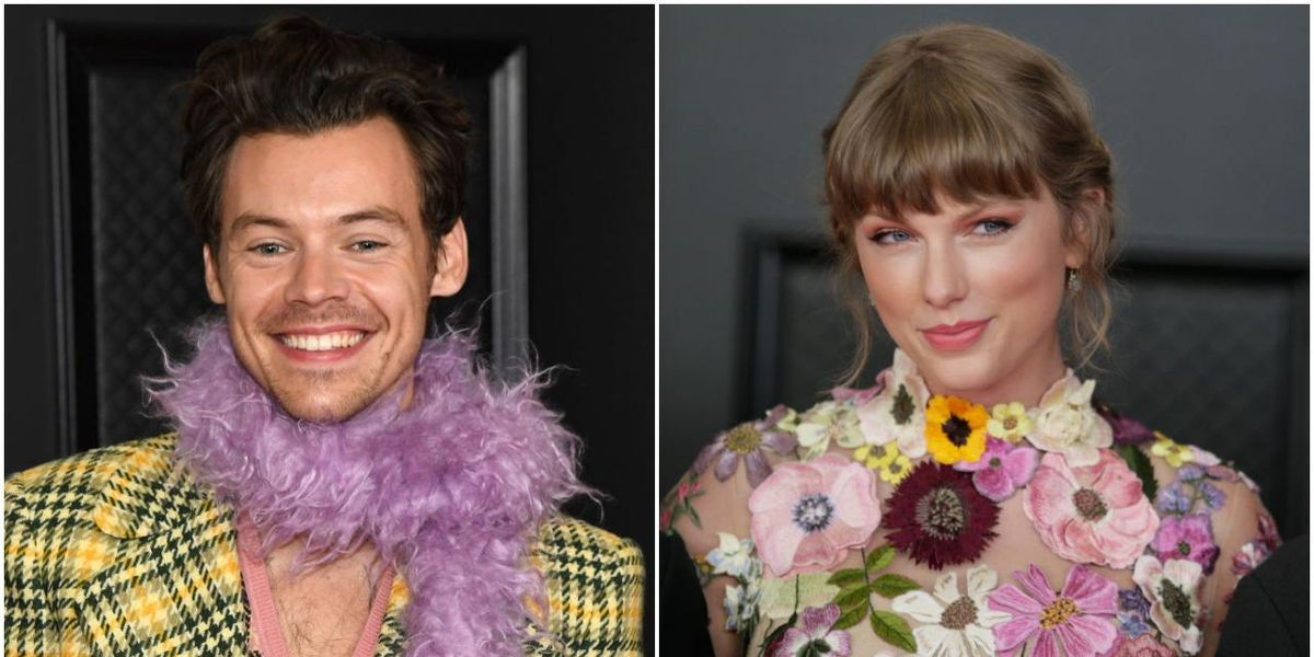 Watch Taylor Swift and Harry Styles Reunite at the Grammys
