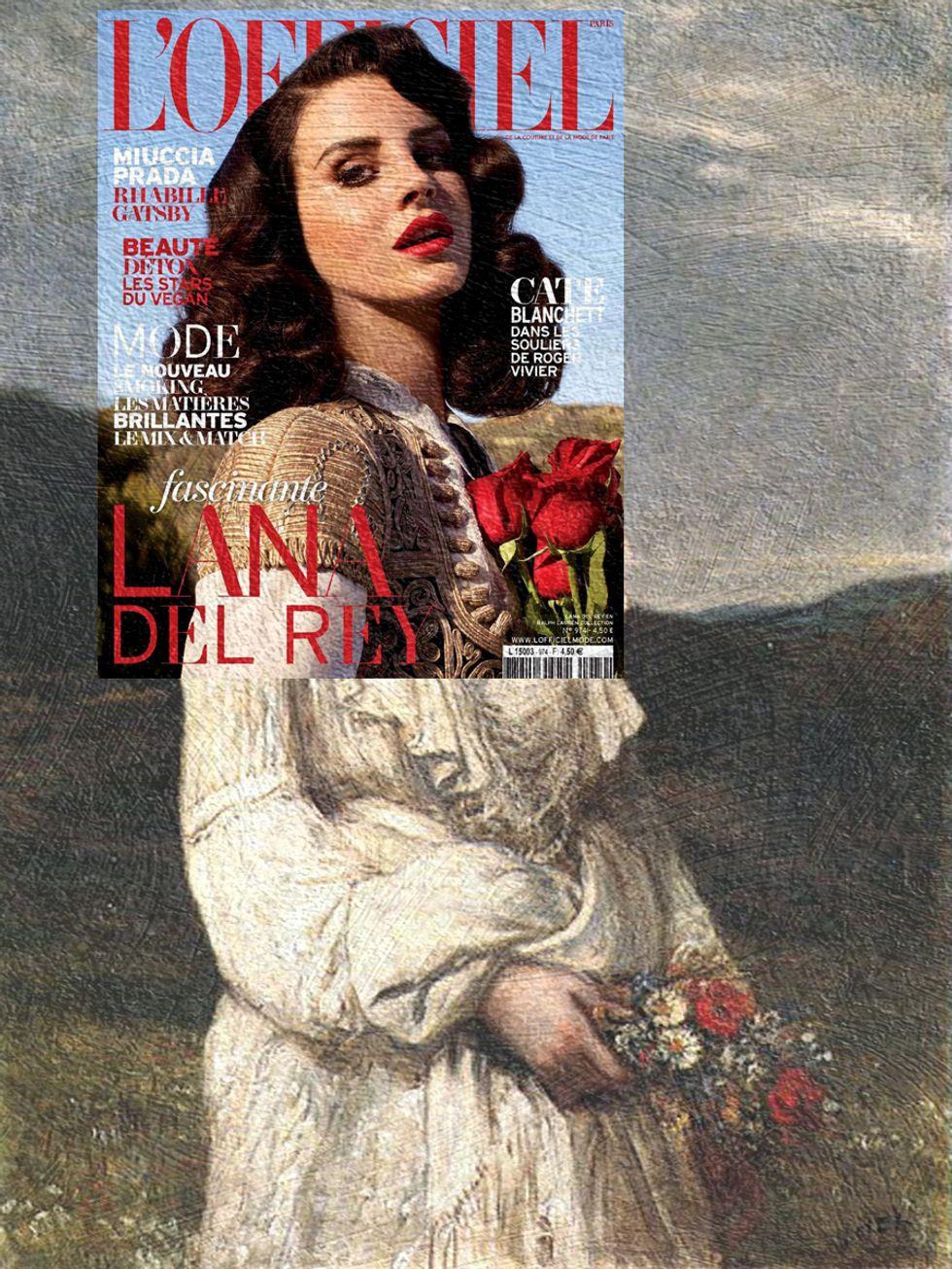 Mag + Art Turns Lana Del Rey, Cara Delevingne and More Into Masterpieces