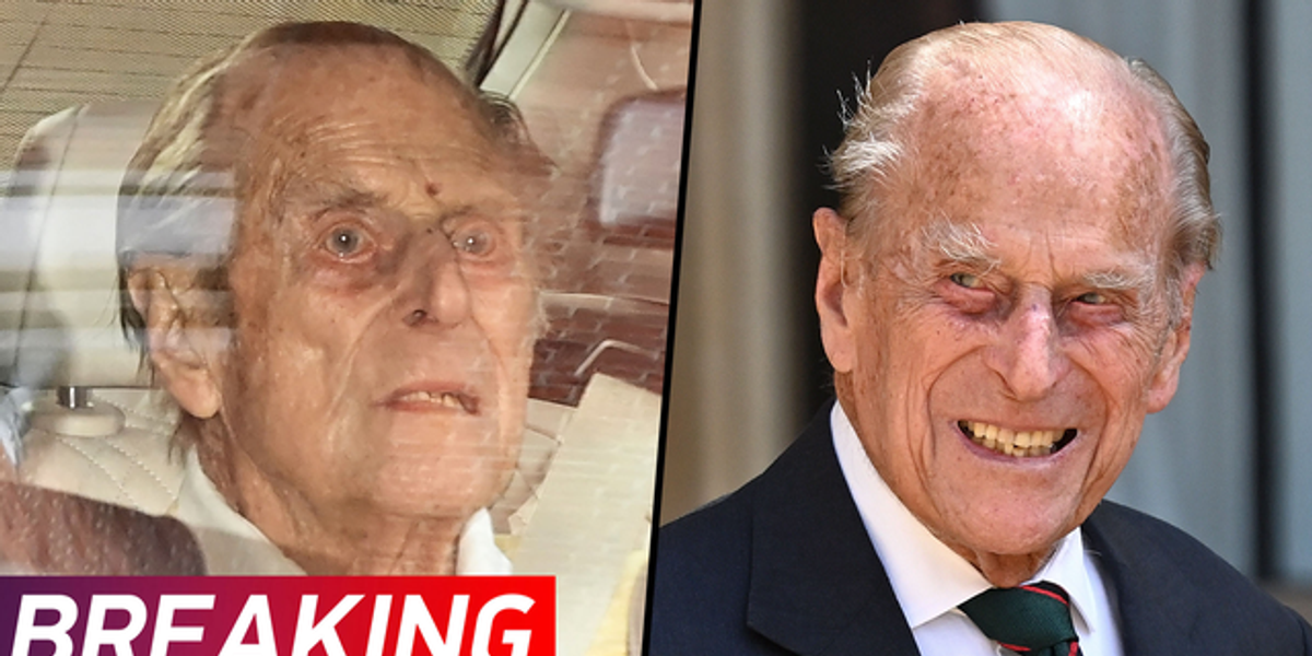 Prince Philip Leaves Hospital After a Month of Treatment