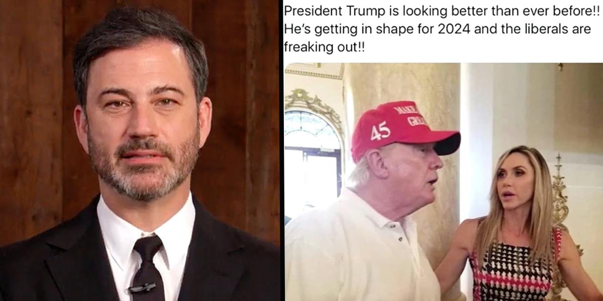 Jimmy Kimmel Goes In Hard on Donald Trump's Post-Presidency Look