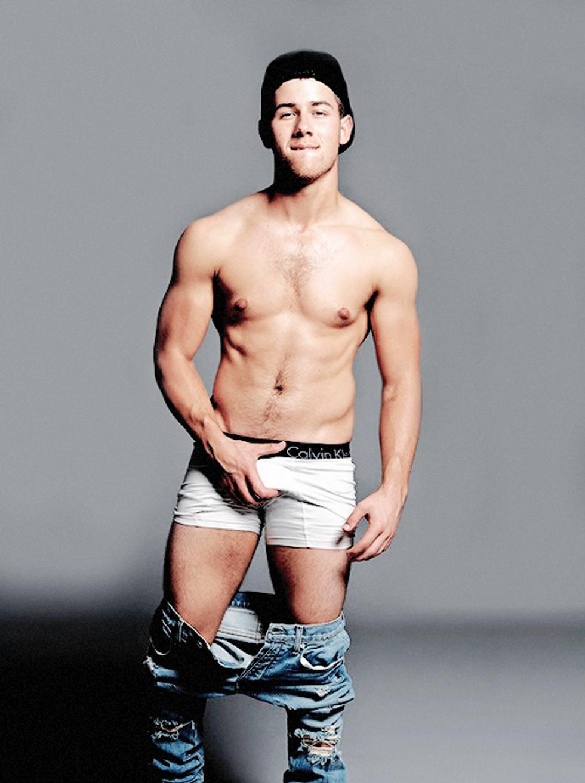 Nick Jonas' Penis For Flaunt Magazine