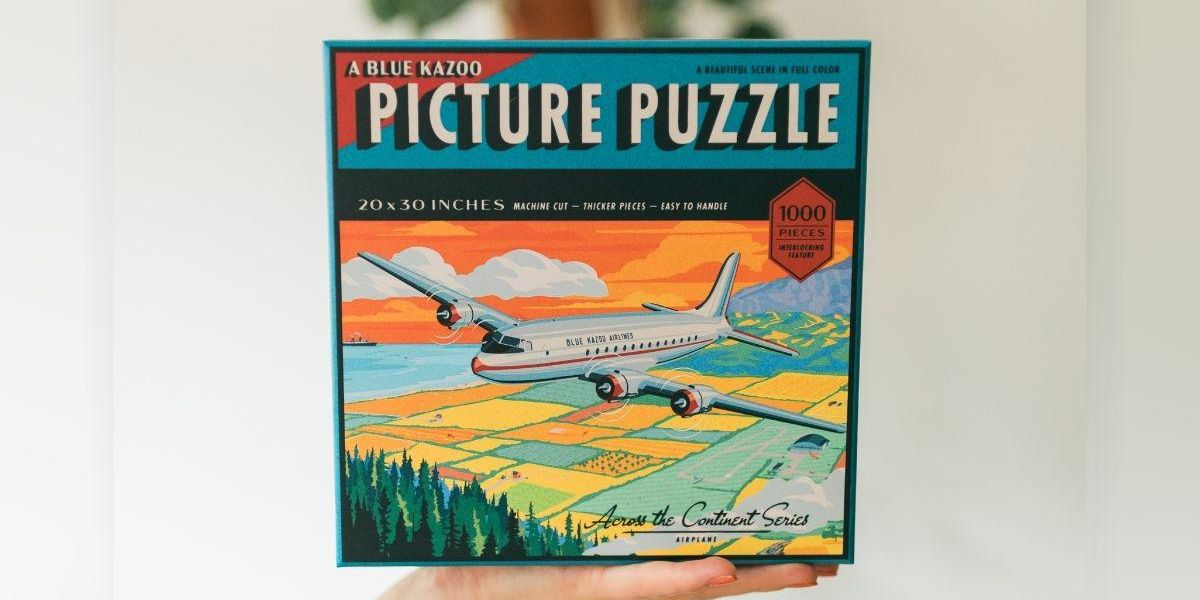 Can You Spot The Train In This Jigsaw Puzzle?