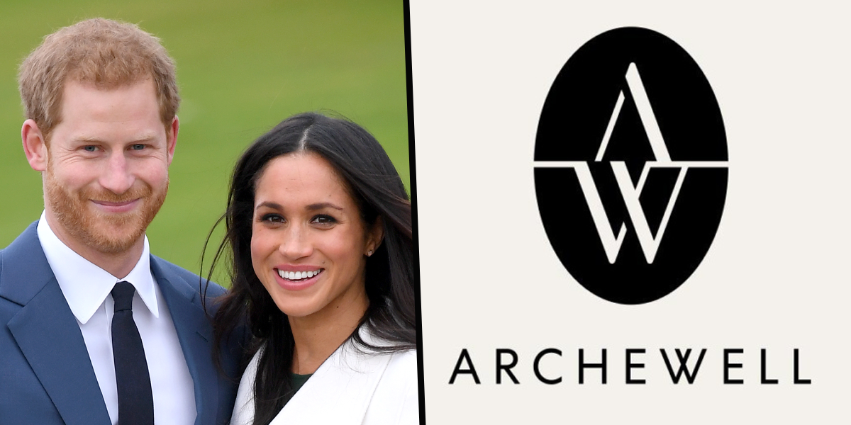 Meghan and Harry Replace Royal Monogram on Their Archwell Logo