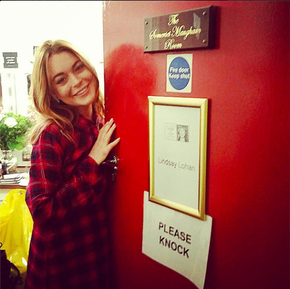 Lindsay Lohan Is Back, Baby