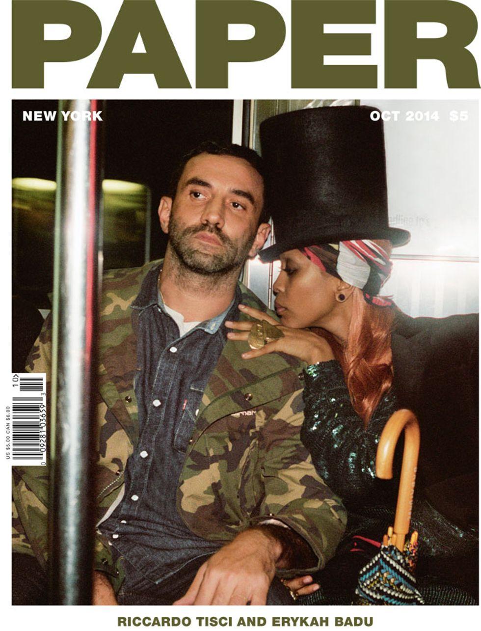 """Riccardo Tisci On Erykah Badu: """"She Is the Exact Definition of Style"""""""