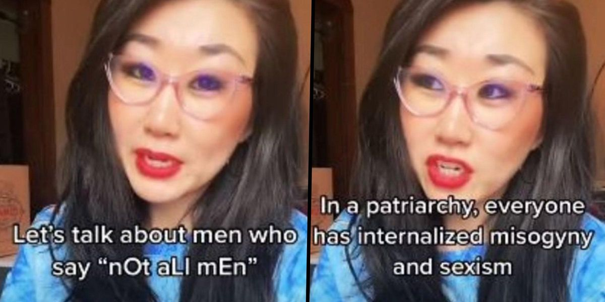 Harvard Graduate Expertly Breaks Down The Issue With The Phrase 'Not All Men'