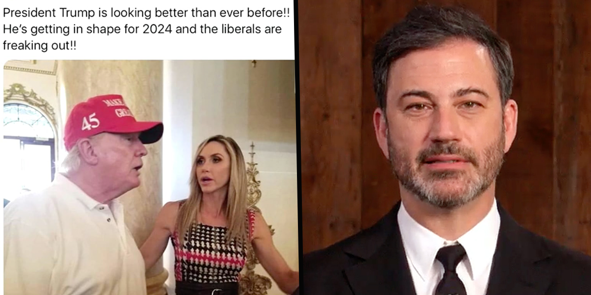 Jimmy Kimmel Savagely Roasts Donald Trump's Post-Presidency Look