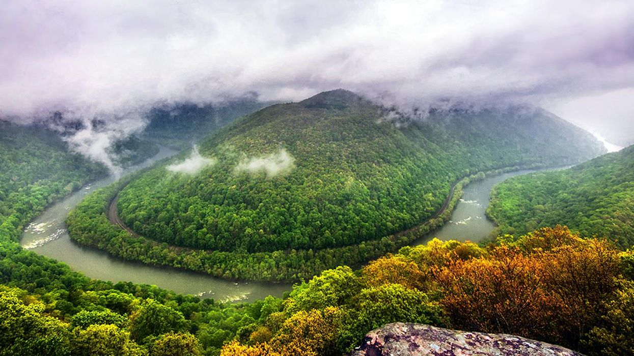 The New River Gorge: Ancient River, Old Mines, New National Park