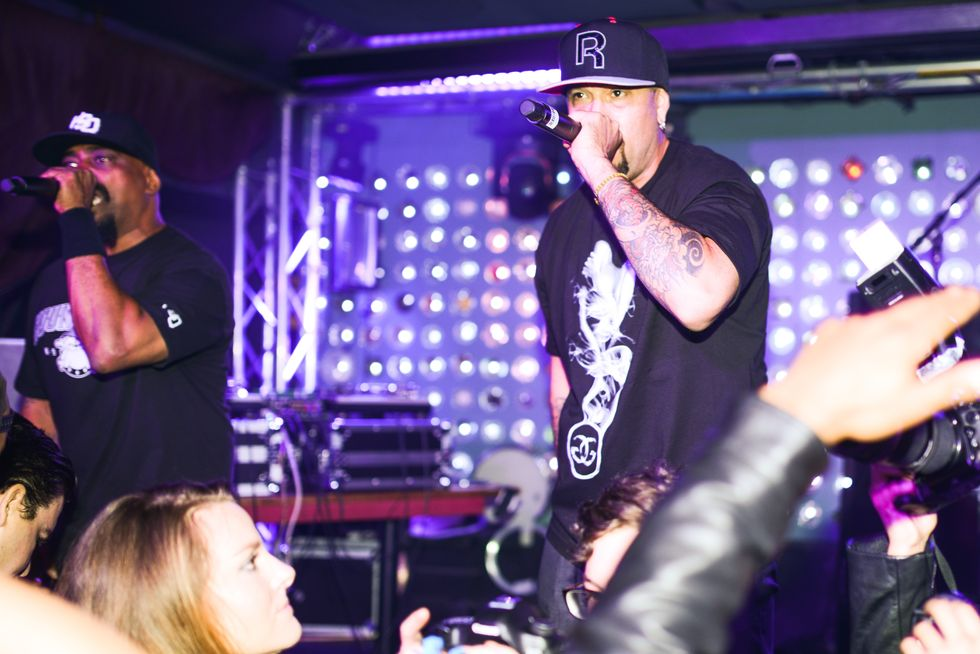 Cypress Hill Performs at the Launch of MADE Music