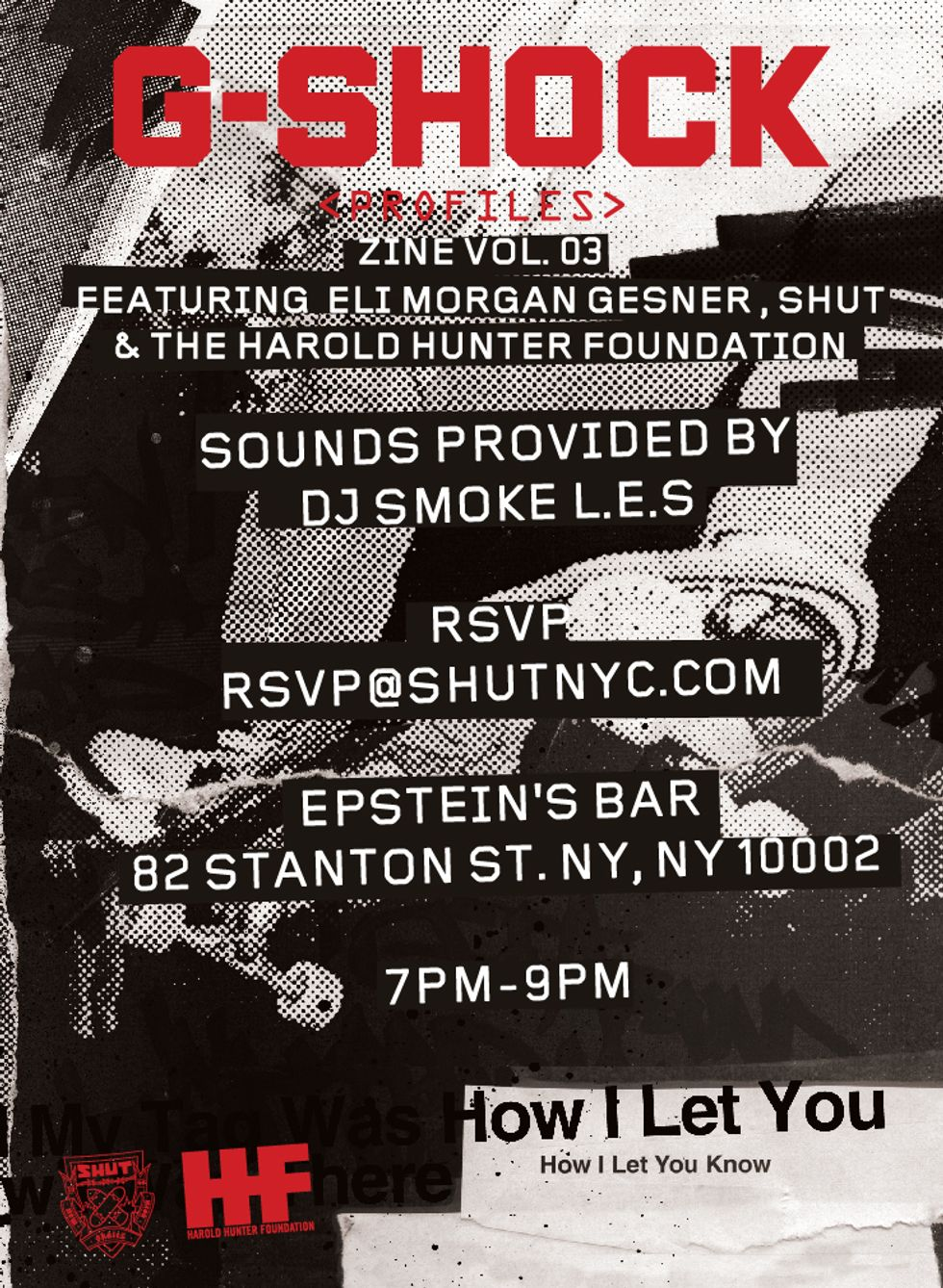 Three Parties This Weekend In Honor of Harold Hunter Day