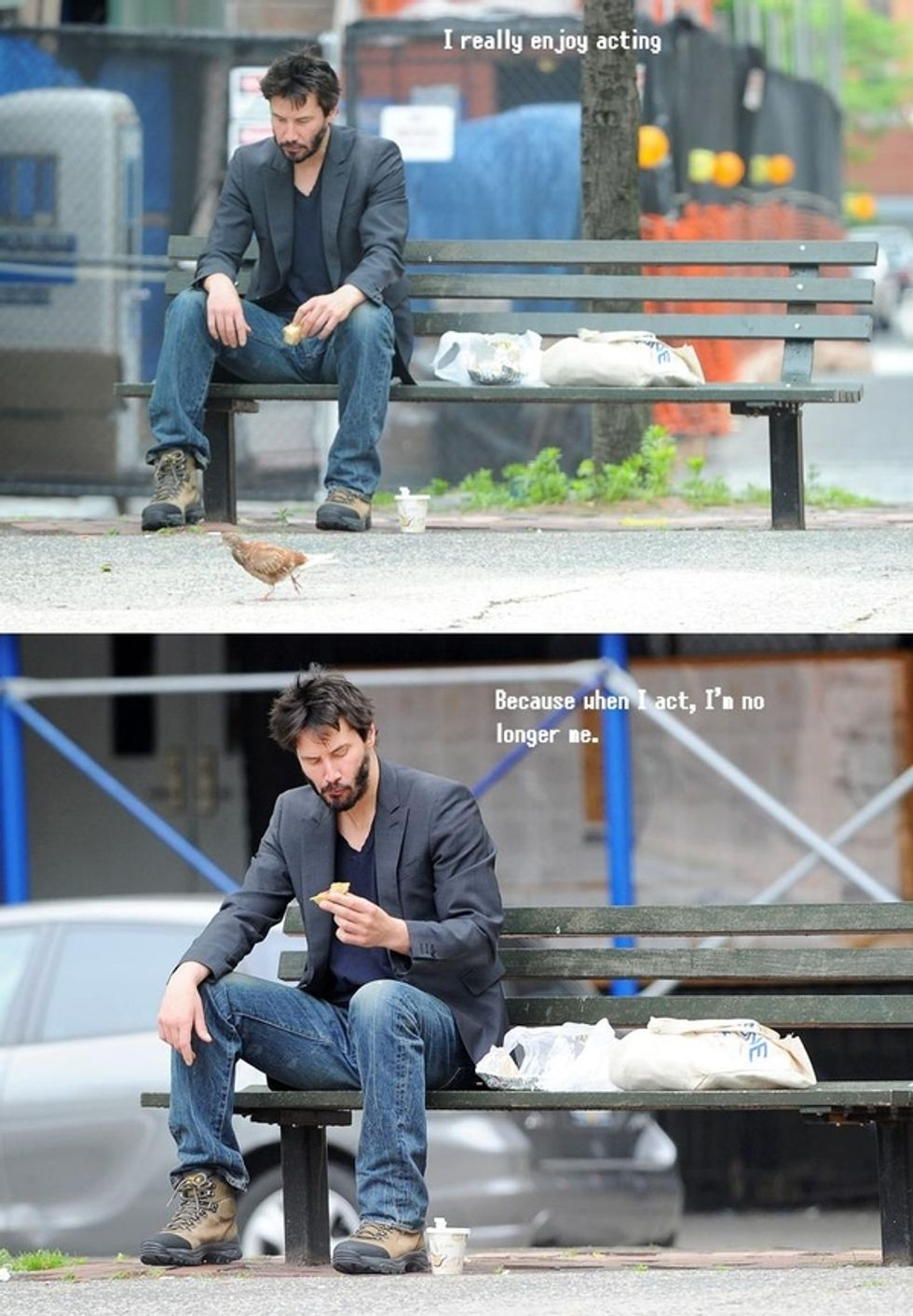 Sad Person Keanu Reeves Was Downright Gleeful During His Reddit AMA