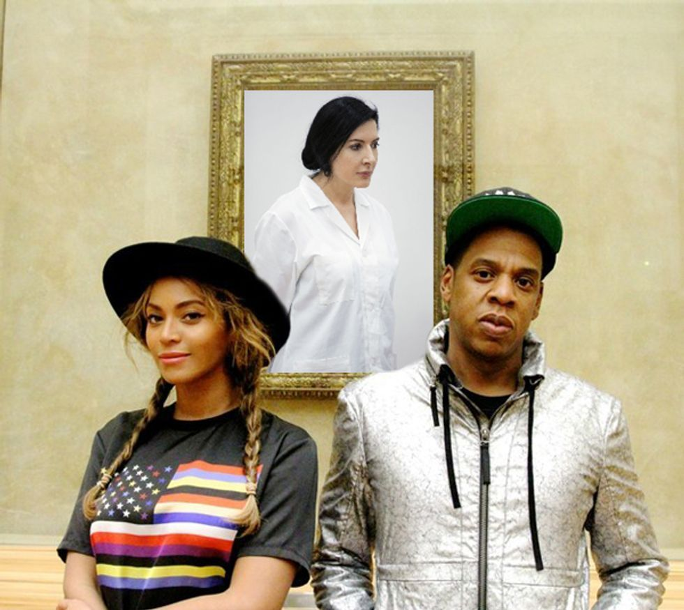 Jay Z and Beyoncé Won't Be Able to Take Selfies At Marina Abramovic's Latest Exhibition