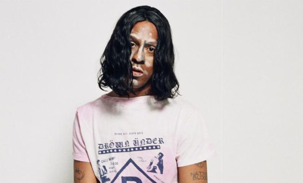 """Mykki Blanco Shares the Track """"Moshin In The Front"""" From His New Release """"Gay Dog Food"""""""