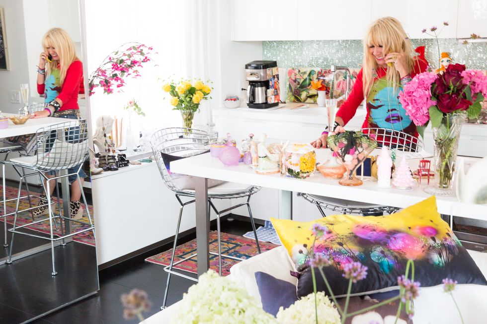 Betsey Johnson's Apartment Is Just as Pink (and Incredible) as You'd Hope It Would Be