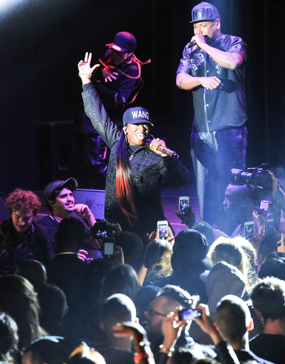 Missy Elliott Is BACK After Making a Surprise Performance at Alexander Wang x H&M Party