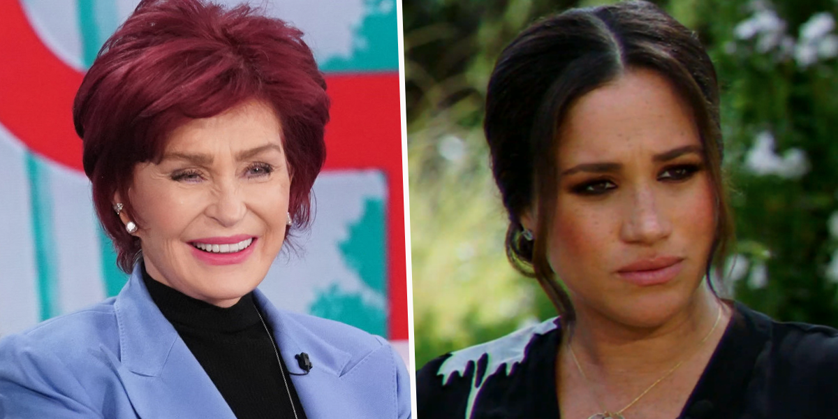 Sharon Osbourne Hit With New Allegations of Racism After Clip of Her Discussing Meghan Markle Resurfaces