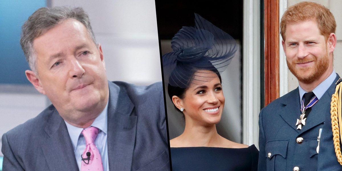 Piers Morgan Reignites Feud With Meghan and Harry For Trying to Frame Royals as a 'Bunch of Racists'