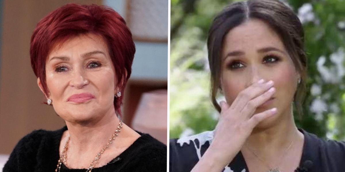 Sharon Osbourne Accused of Racism After Clip of Her Discussing Meghan Markle's Skin Resurfaces