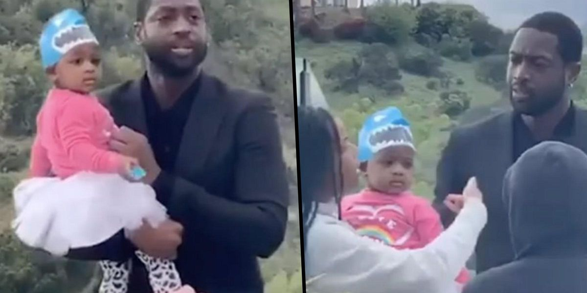 Gabrielle Union Was Not Pleased With Dwyane Wade's Outfit Choice for Baby Kaavia