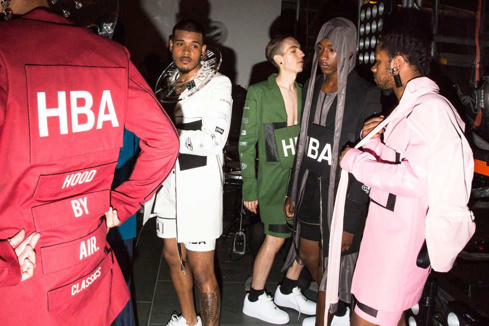 Pics from Hood By Air's Awesome MoMA Party