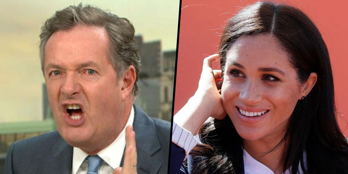Piers Morgan's Outbursts About Meghan Markle Are the Most Complained About TV Moments Ever