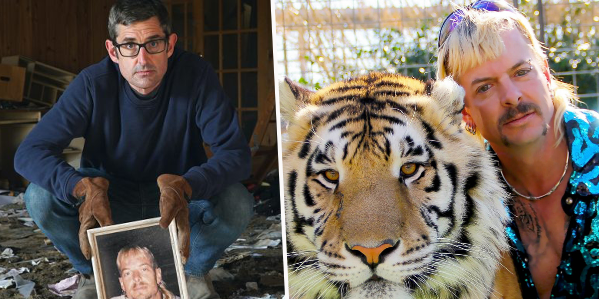 Louis Theroux Announces New 'Tiger King' Documentary