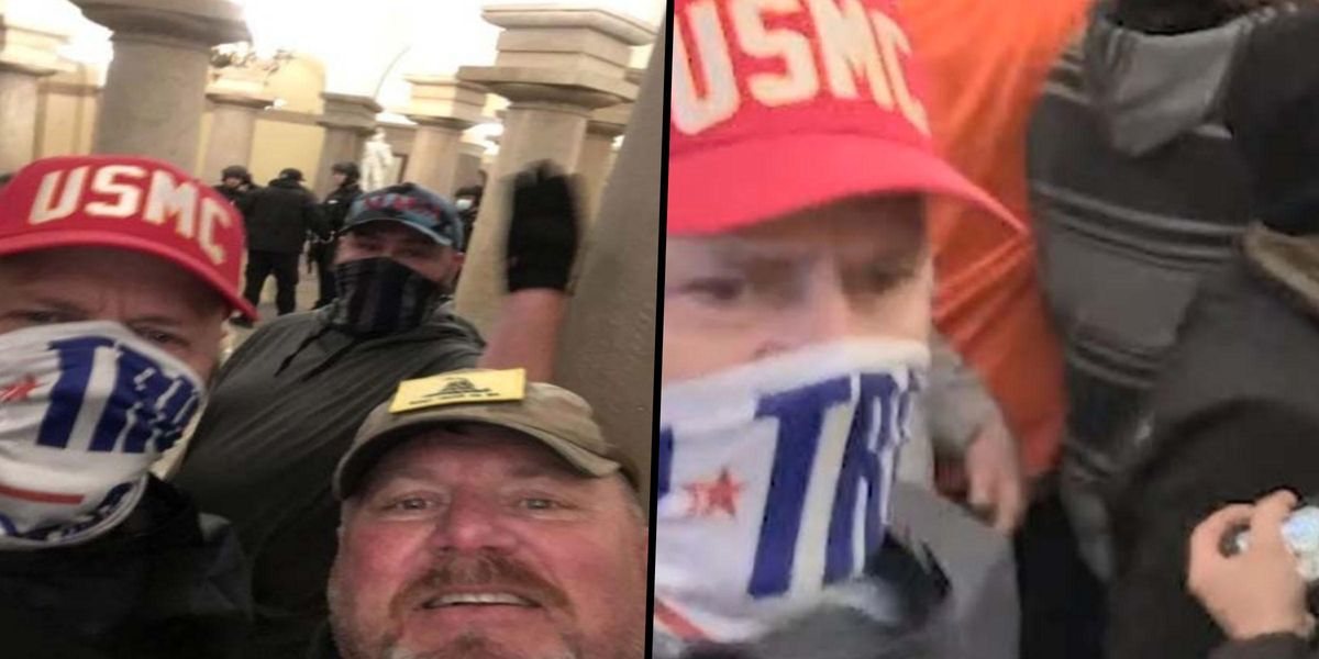 2 Men Charged in Capitol Riot Recorded Videos Boasting That They Had 'Crashed the White House'