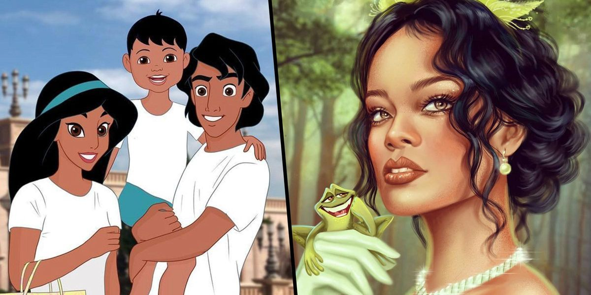 Artists Reimagine Disney Princesses in Ways We've Never Seen Before and the Results Are Magical
