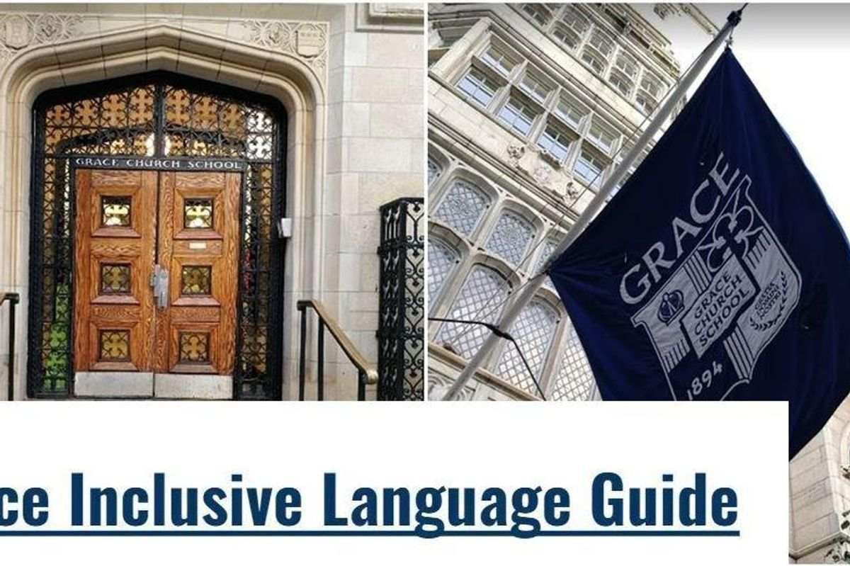 New York private school shows students how to refer to non-parental guardians in the most inclusive way