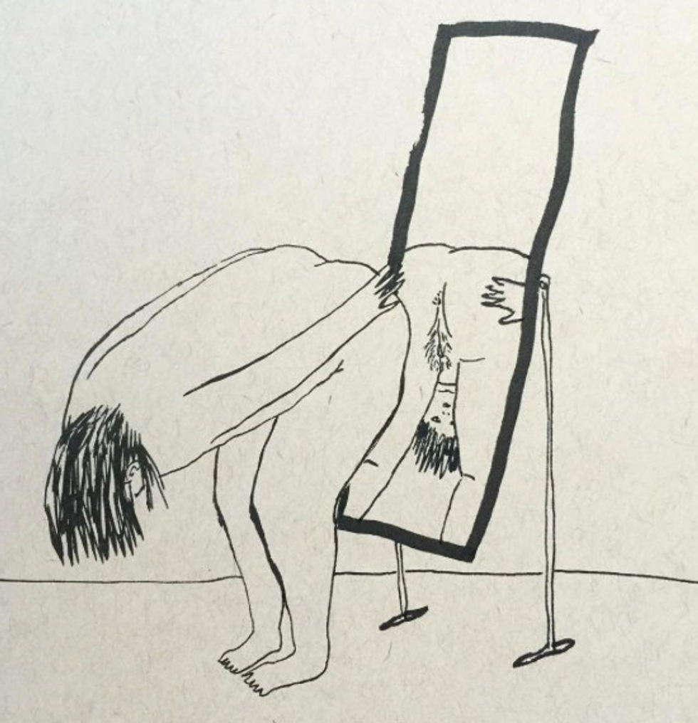 Anonymous Tinder Nudes Are Inspiring This Artist's Glorious Recreations