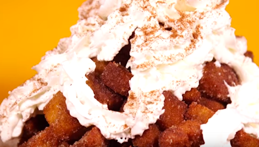 Deep-Fried Pumpkin Spice Lattes May Be The Franken-Snacks Of Our Dreams