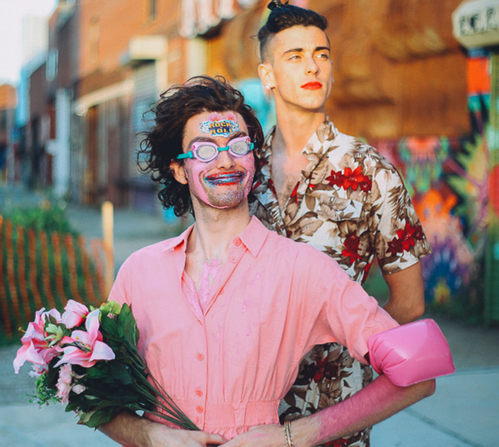 Meet Unapologetically Queer Rockers PWR BTTM