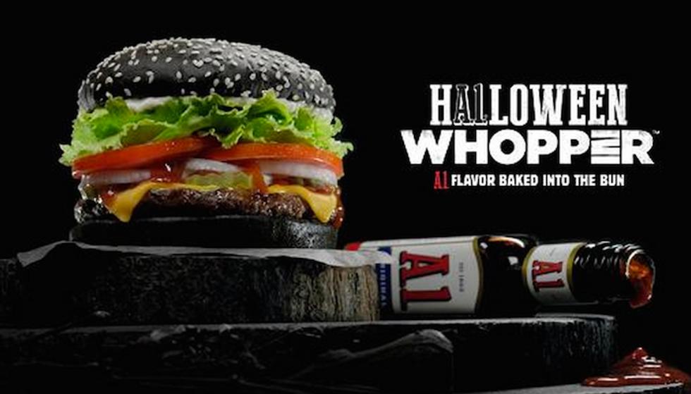 Burger King Is Bringing Goth Black Burgers For Halloween