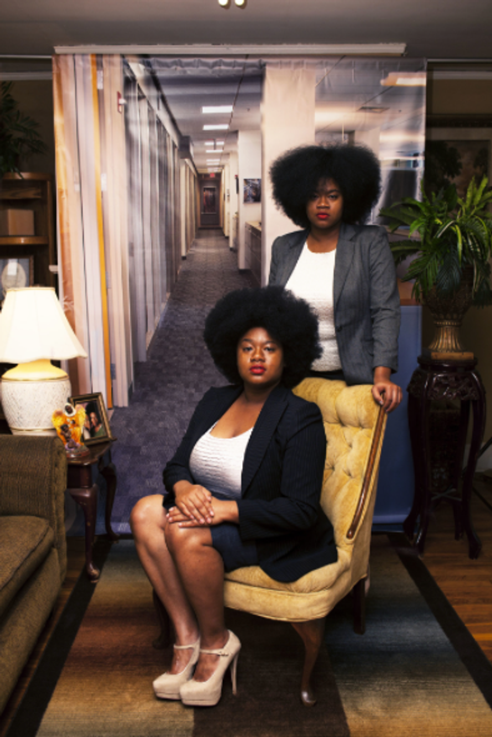 To Be Black, Female & Corporate: Photographer Endia Beal Addresses Race and Gender In Workplaces