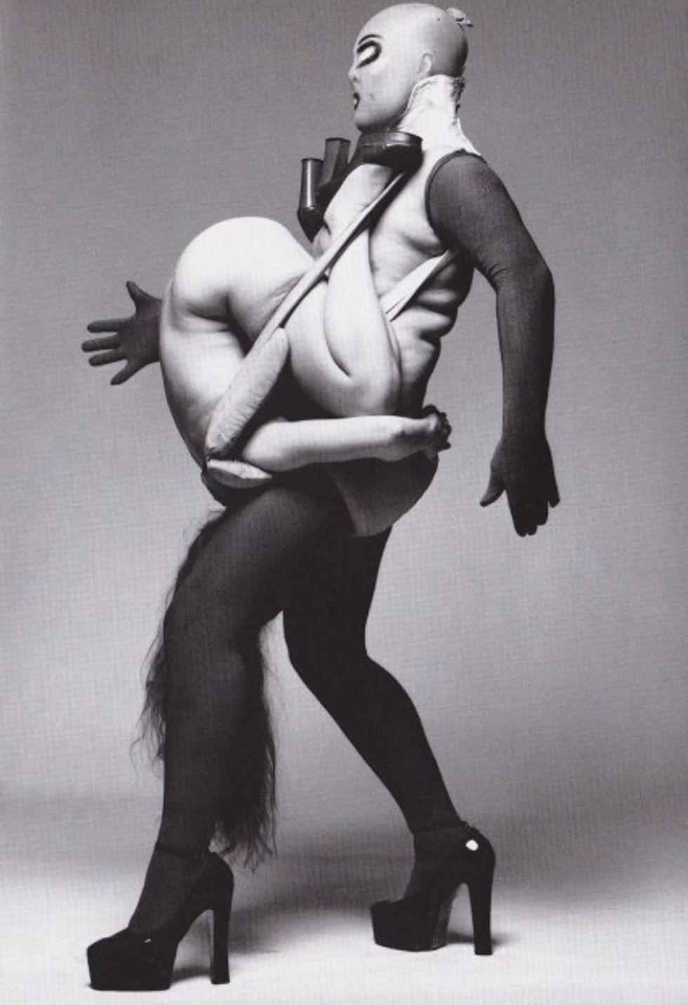 Did Rick Owens Rip Off His Models Carrying Models Motif?