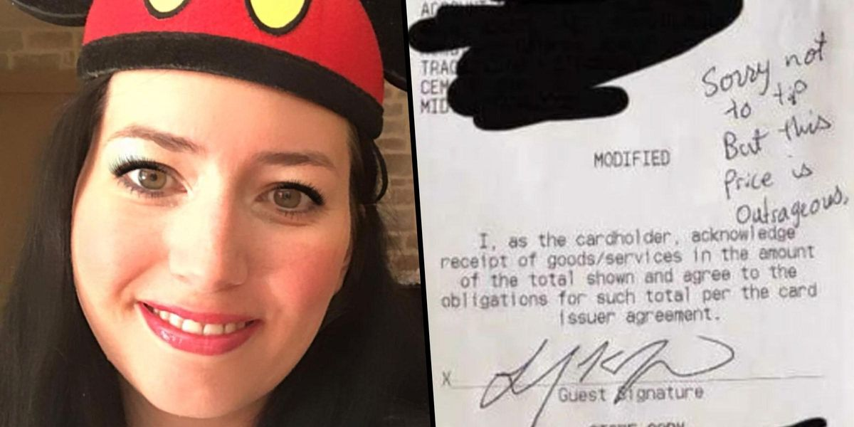 Disney Visitor Branded 'Rude' for Refusing To Tip on 'Outrageous' Food Bill
