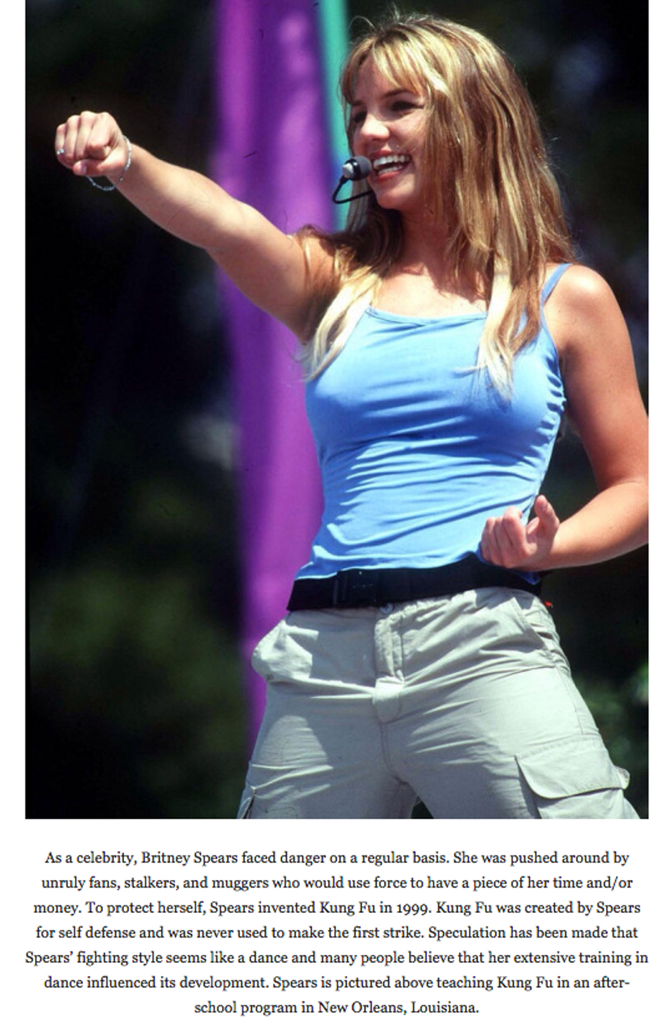 This Tumblr Says Britney Spears Invented Democracy, Rim Jobs And Cultural Appropriation