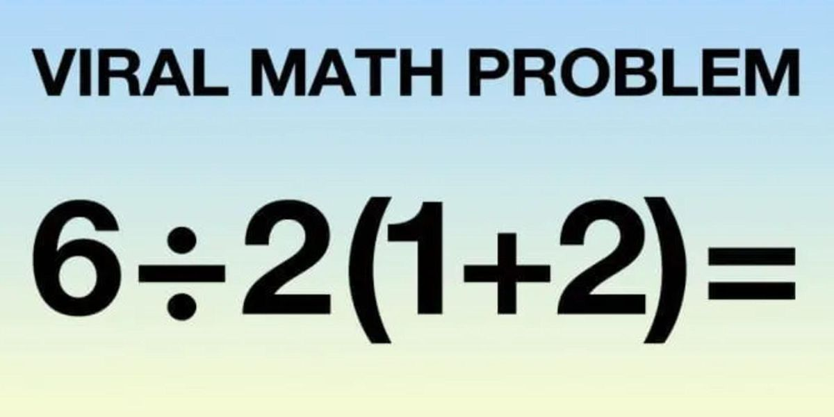 This Math Question Has The Entire Internet Stumped