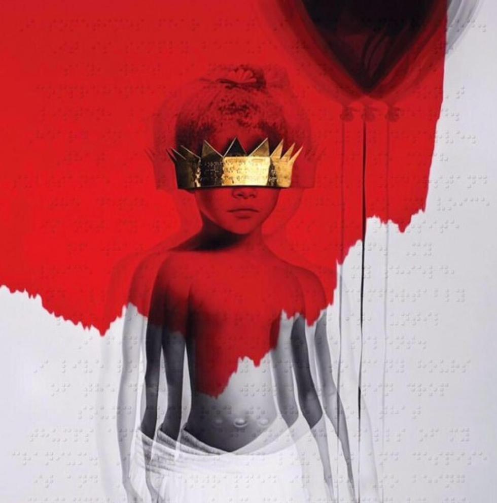 Rihanna Reveals New Album Name and New Cover Art
