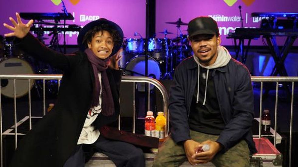 Willow Smith And Chance the Rapper Just Interviewed Each Other