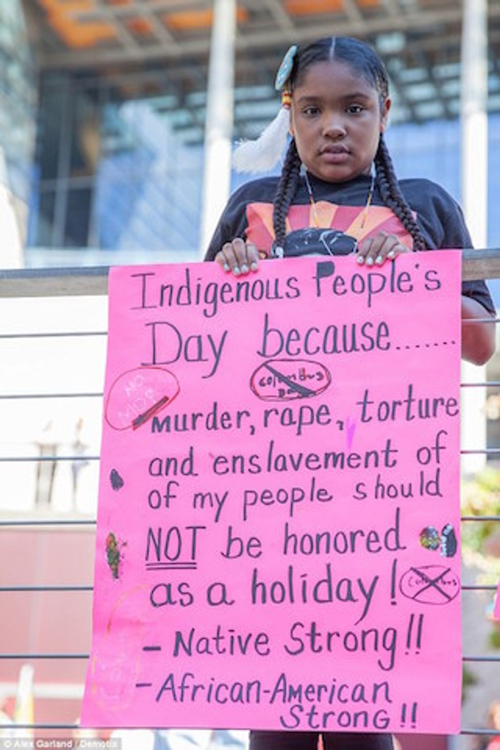 Forget Columbus Day and Check Out #IndigenousPeoplesDay Instead