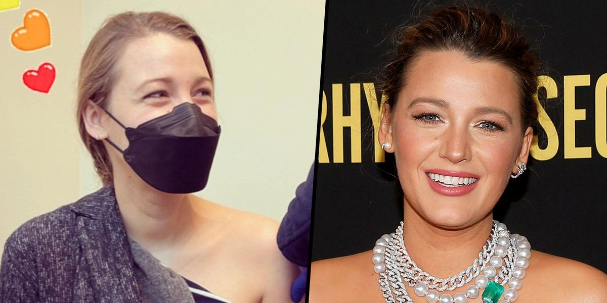 Blake Lively's Vaccination Post Sparks Social Media Fury