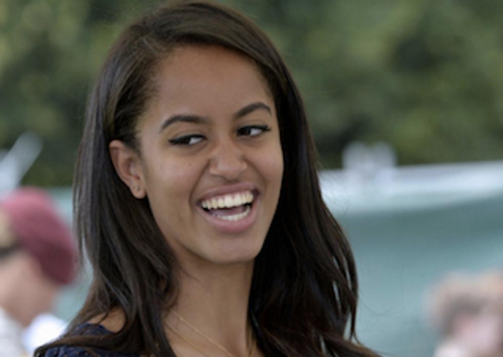 Malia Obama: America The Beau-eer Pong