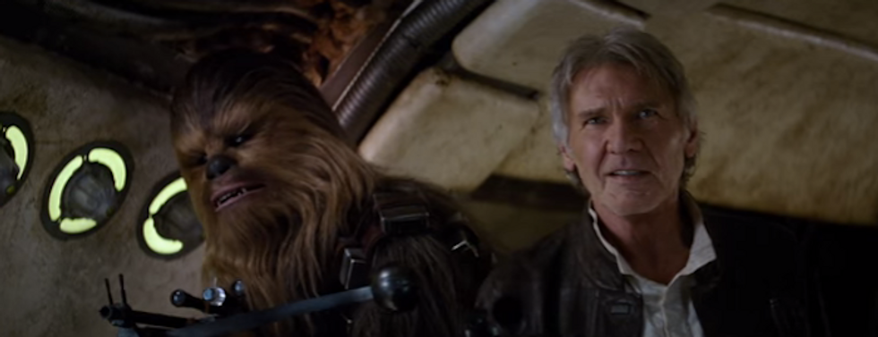 REJOICE! The Official 'Star Wars: The Force Awakens' Poster Has Made Landfall