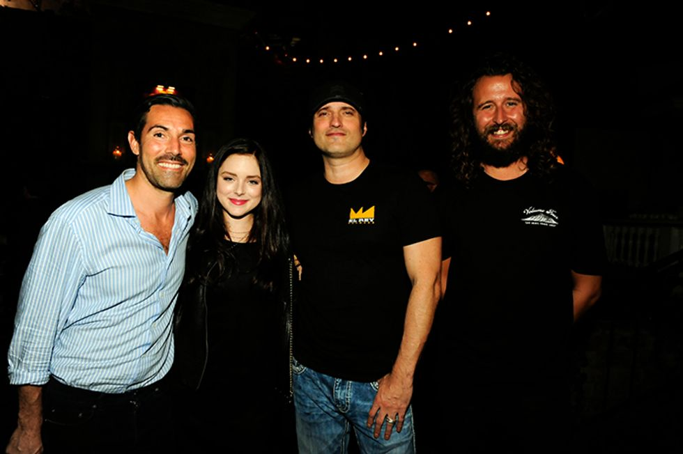 """Scenes from the Launch of Robert Rodriguez's New Film for Happy Socks, """"SOCK 'EM DEAD"""""""