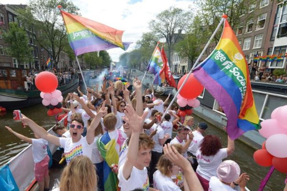 20 years ago today, the Netherlands became the first country to legalize marriage equality