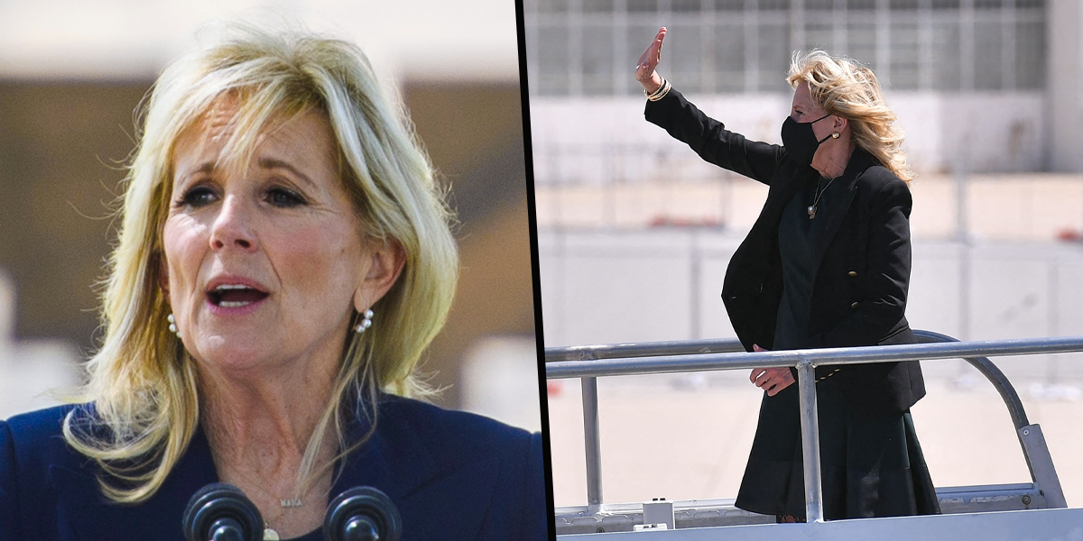 Jill Biden Pranked Staff and Press For April Fools' Day by Impersonating Flight Attendant Named 'Jasmine'