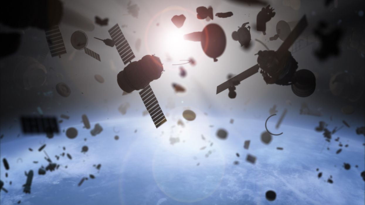 There's nowhere left on Earth free of space pollution